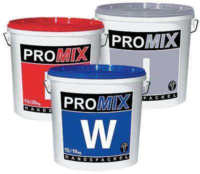 Влагостойкая шпатлевка Promix W