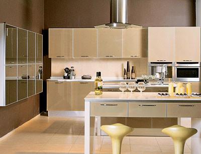 Стеклянная кухня «Салерно»