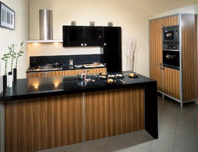 Кухня «Зебрано»