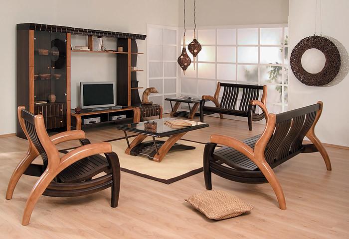 Мебель из гевеи