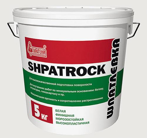 Готовая шпаклевка Shpatrock