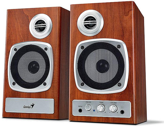 Классика навсегда: двухкомпонентная акустическая система Genius