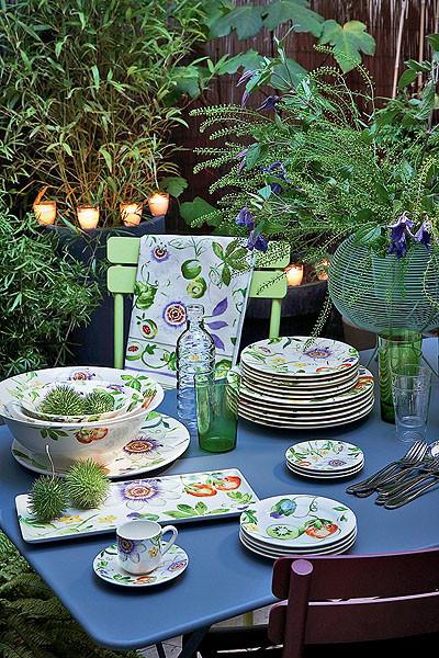 Возвращение в лето: столовая посуда от Gien