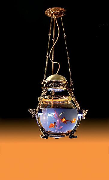 Светильник-аквариум
