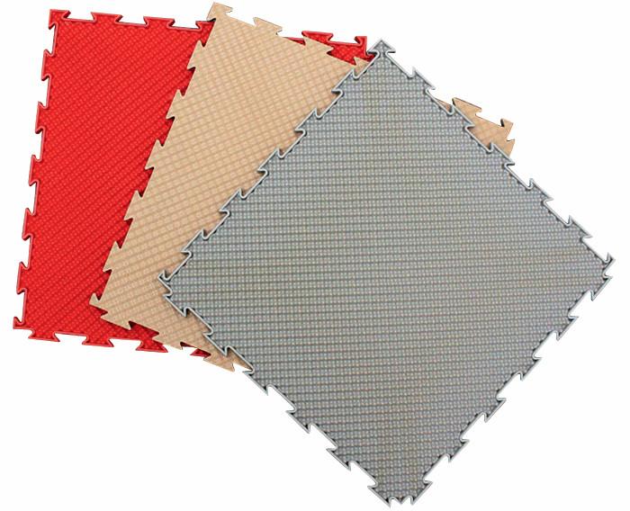 Серия модульных напольных ПВХ-покрытий