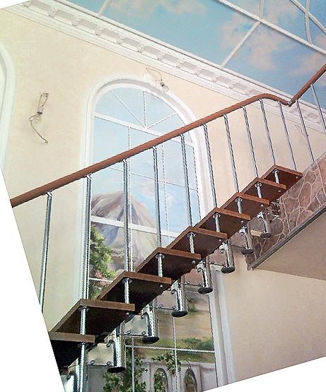 Лестницы на прочном каркасе