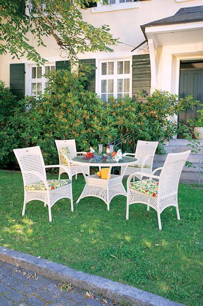 Комфорт по-немецки: коллекция садовой мебели