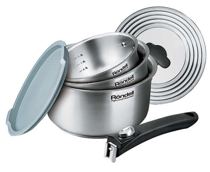 Кухонный минимализм: посуда из нержавеющей стали