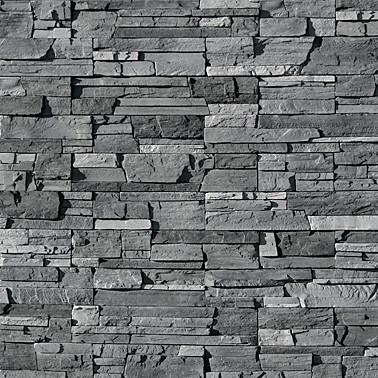 Все оттенки черного: декоративный облицовочный камень