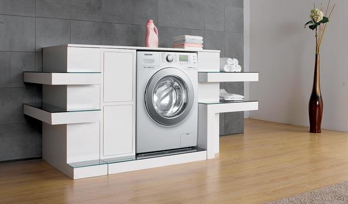 Маленькая, но технологичная стиральная машина