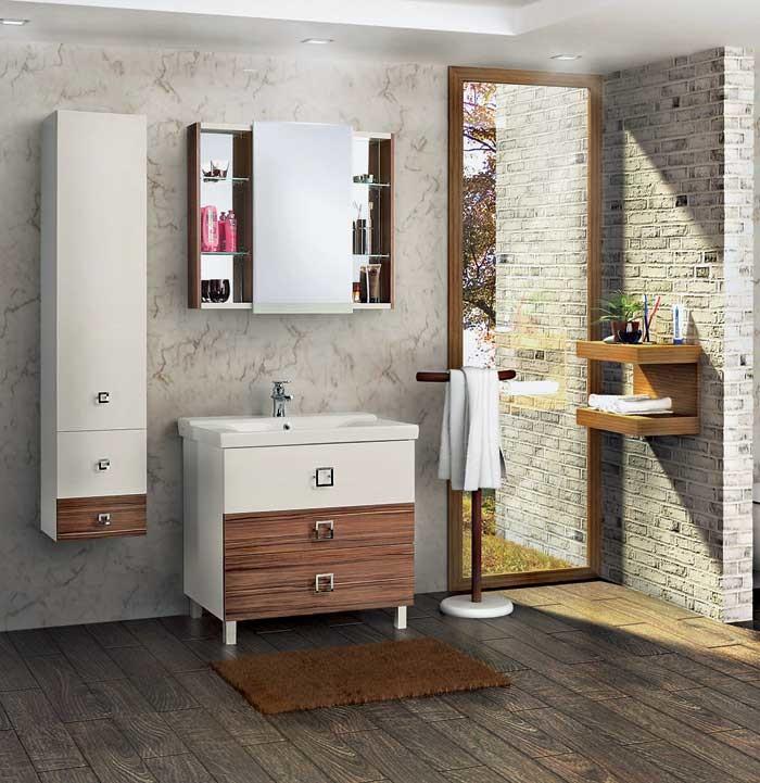 Для любой ванной: коллекция мебели