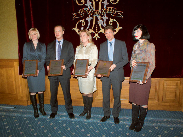 Итог встречи -  4 : 1. Церемония вручения зеленых сертификатов