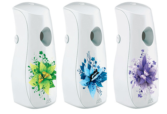 Контролер свежести: набор автоматических освежителей воздуха