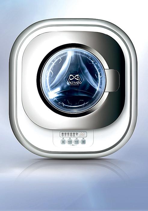 Машинка как картинка: настенная стиральная мини-машина
