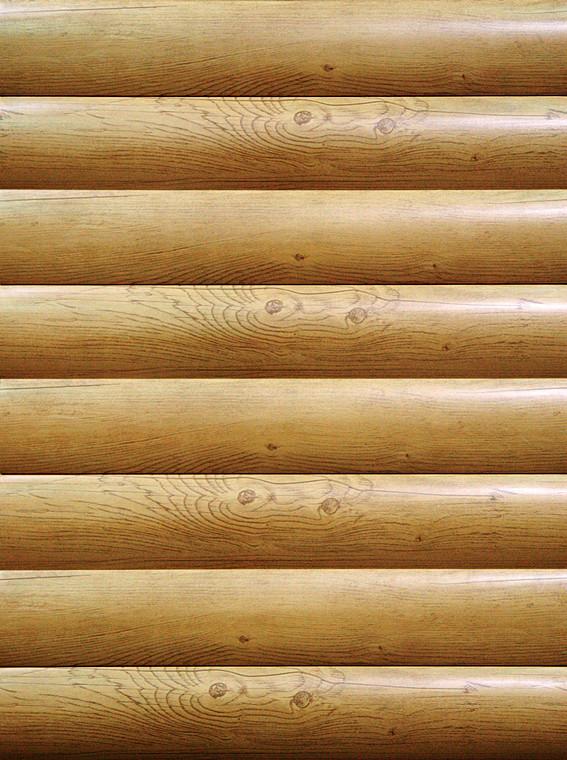 Не деревянный сруб: новый вид стального сайдинга