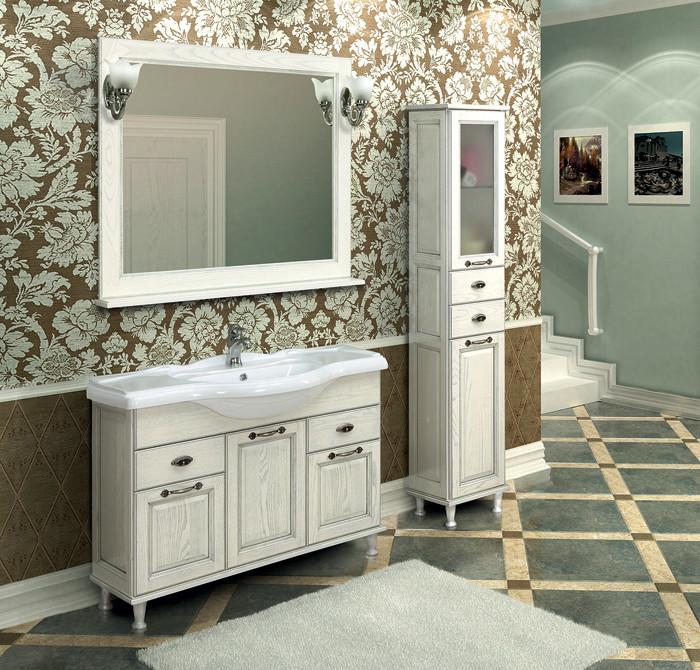 Белая классика: коллекция мебели для ванных комнат