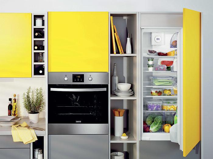 Удачная комбинация: серия встраиваемых холодильников