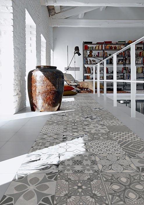 Декоративное искусство XIX века: керамическая плитка