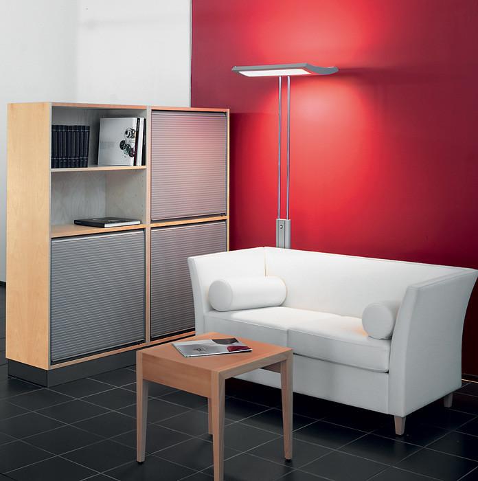 Не в ущерб стилю: мебельные жалюзи