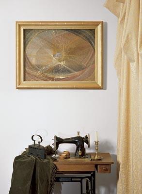 Картина из ниток
