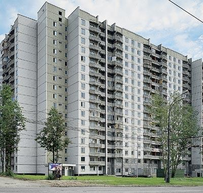 Объединение квартир в доме серии П-44