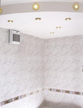 Подвесной потолок с галогеновыми светильниками