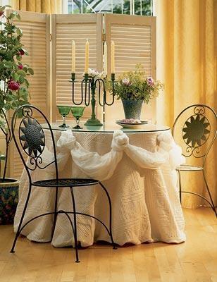 Драпированный стол