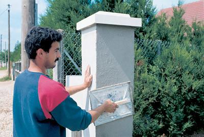 Оштукатуривание наружных стен: подготовка стен, правила нанесения