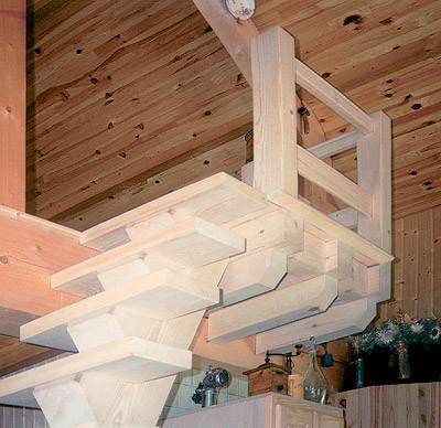 Лестница на антресоль