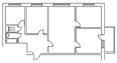 Пасьянс на тему жилплощади: несколько дизайн-проектов