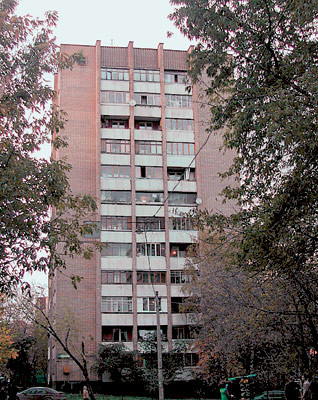 Однокомнатная квартира в доме-башне серии Москворецкая