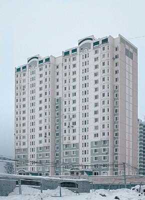 Трёхкомнатная квартира площадью 64,5 м2 в доме серии М6 «ЭКО»