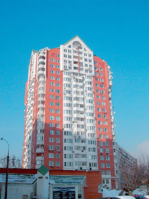 Двухкомнатная квартира площадью 88м2 в доме серии И1737