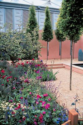 Девять идей маленького сада