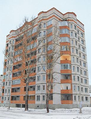 Однокомнатная квартира общей площадью 42,3м2