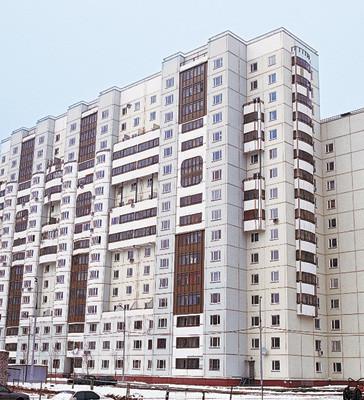 Однокомнатная квартира общей площадью 40,9м2