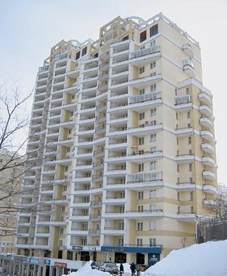 Двухкомнатная квартира общей площадью 89,3 м2