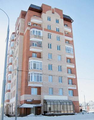 Трехкомнатная квартира общей площадью 105,9 м2