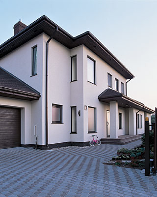 Дом в городском стиле