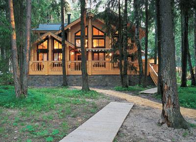 Финский дом в русском стиле