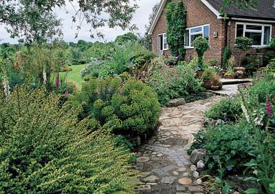 Пейзажный садик
