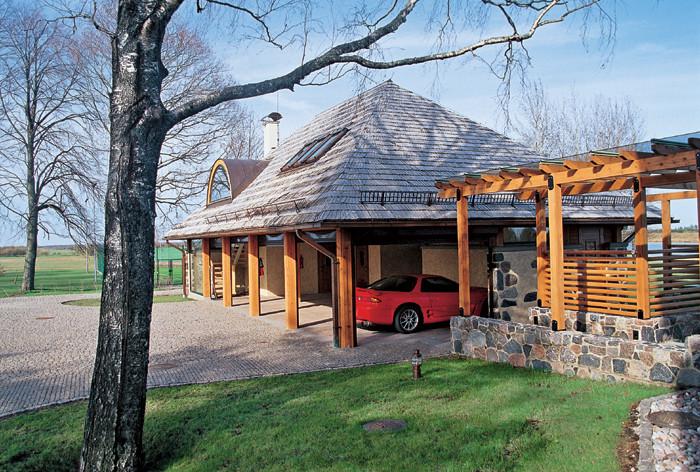 Дом-гараж