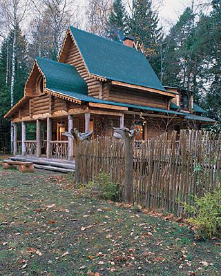 Почему деревянные дома бывают холодными? (Свой дом №3/2006, стр. 147)