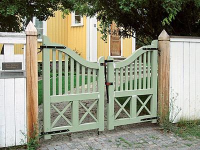 На новые ворота (Свой дом №5 2006, стр.290)