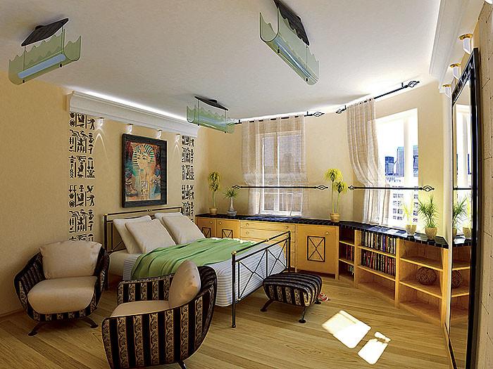 Четыре дизайн-проекта квартир в панельном доме серии П-55М