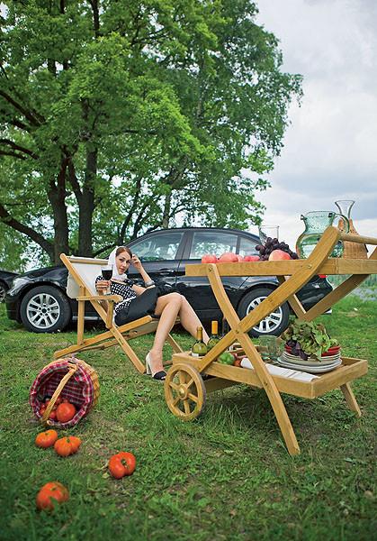 С ветерком - на пикник