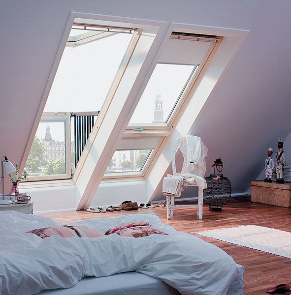 Мансардные окна: типы, особенности конструкций, порядок монтажа