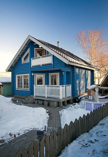 Дом из страны морошки