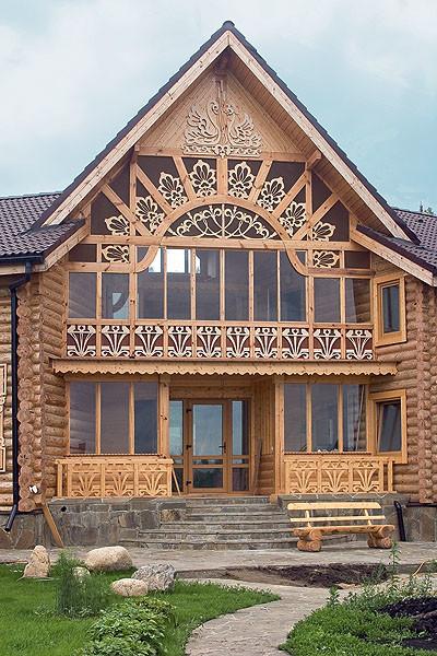 Установка окна в деревянном здании
