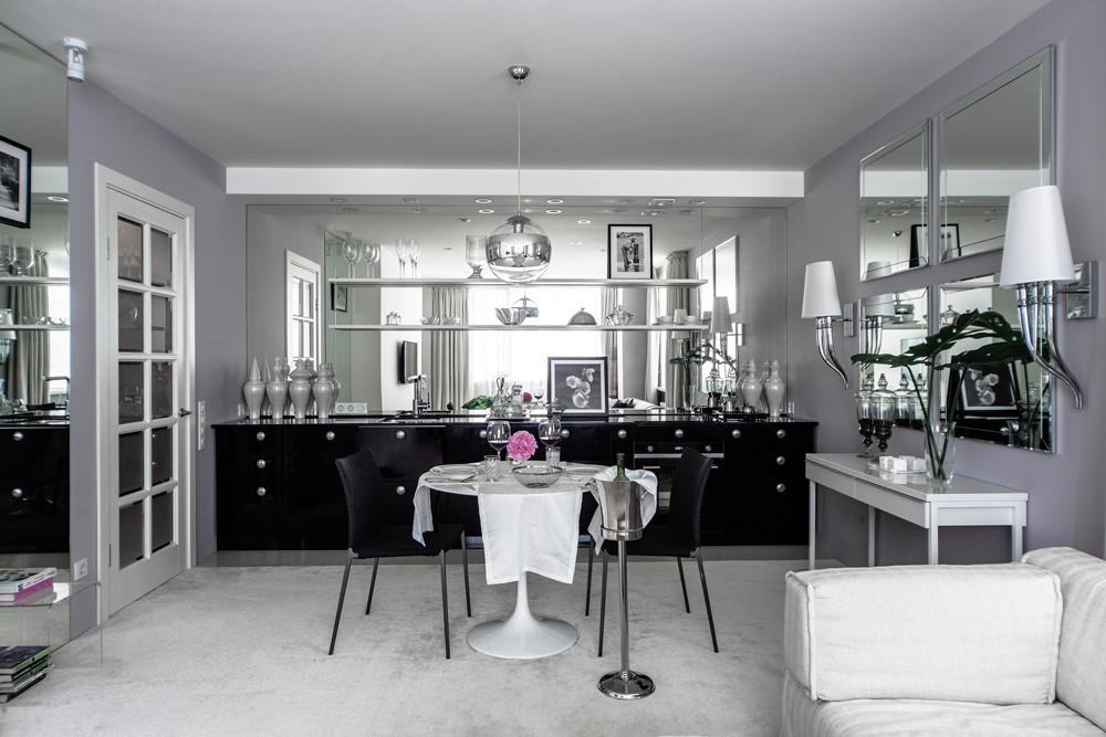 Изысканность и нега: квартира-будуар для молодой хозяйки